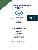 Universidad Abierta Para Adulto Ariel # 06