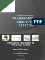Transporte Marítimo Especial