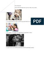 Los 15 Principios de María Montessori