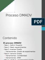Proceso DMADV