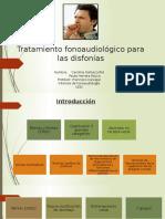 5_Tratamiento Fonoaudiológico Para Las Disfonías