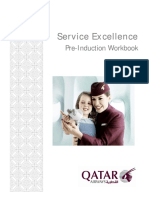 Qatar Airways Pre Induction Booklet July 2012