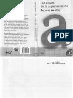 Weston-Las claves de la argumentación.pdf