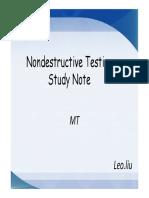 MT self-Study Note