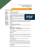 Solar News, May 2006 ~ Australian And New Zealand Solar Energy Society - South Australian Branch