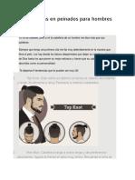 6 Tendencias en Peinados Para Hombres