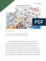 Political Cartoon Analysis - Tom Stiglich