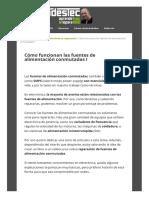 Fidestec.com Blog Fuentes de Alimentacion Conmutadas 01
