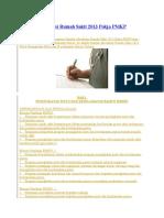 Standar Akreditasi Rumah Sakit 2013 Pokja PMKP