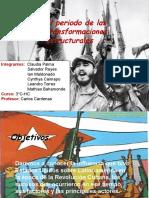 La Revolución Cubana fue un suceso importante en la historia debido a que tanto el capitalismo como el comunismo se involucraron por el alzamiento de un país hispanohablante, a tal punto de casi estallar una guerra entre ambos polos, teniendo a importantes