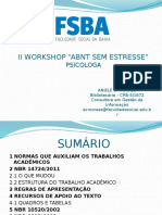 Workshop Abnt Psicologia 23 05