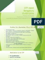 Dr L. Ravindran, CFP, Ph. D, Founder Managing Director &  CEO, Wealthmax Enterprises Management P Ltd, Bangalore