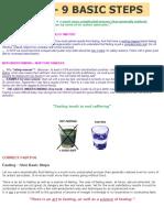 FASTING 9 Basic Steps
