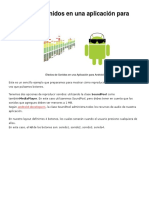 Reproducir Sonidos en Una Aplicación Para Android