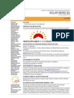 Solar News, August 2006 ~ Australian And New Zealand Solar Energy Society - South Australian Branch