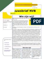 Nieuwsbrief NVB4