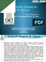 Muhtar Yahya - 1520311106 Mubalig Dalam Pandangan m Natsir