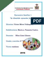 Encuentro Familiar (Sesión pedagógica)