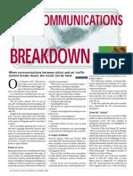 Communications Breakdown
