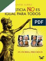 La justicia no es igual para todos de Montserrat Su�rez Abad r1.0.pdf