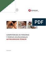 Competencias paramédicos CONOCER