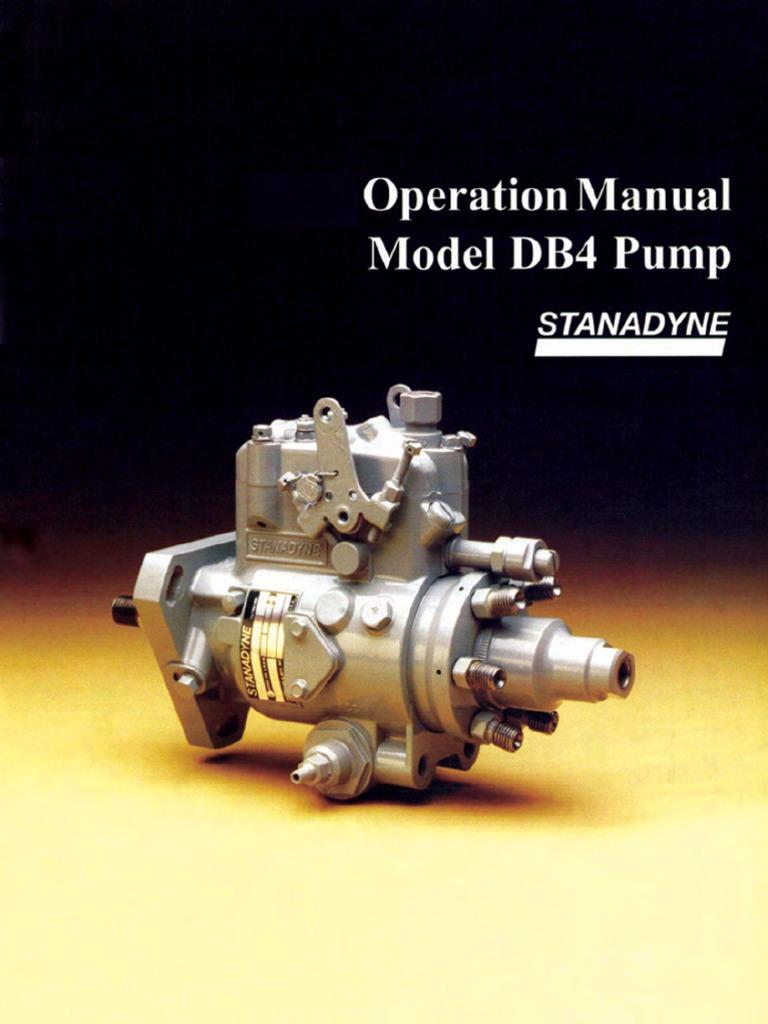stanadyne db4 manual pdf rh scribd com rotary stanadyne db4 manual DB4 Stanadyne Injector Pump Diagram