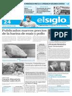 Edición Impresa El Siglo 24-05-2016