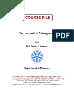 PM Course File - Sivaji
