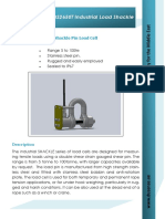 DS2650T Industrial Load Shackle Data Sheet