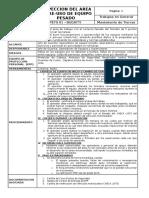 PETS 01 - Tebama - Inspección de Area y Pre-uso de Equipo Pesado - HUARON