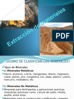 Extracción de Materiales