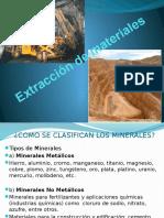 Extracción de Materiales