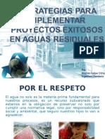 12. Estrategia Paara La Implementación de Proyectos Exitosos en Aguas Residuales