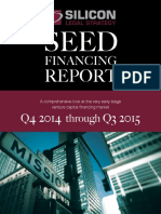 Silicon Legal Seed Financing Report 2015 Report