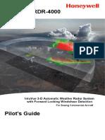 RDR-4000 Pilot's Guide