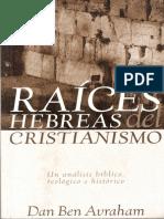 Las Raices Hebreas Del Cristianismo