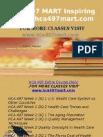HCA 497 MART Inspiring Minds/hca497mart.com