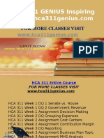 HCA 311 GENIUS Inspiring Minds/hca311genius.com