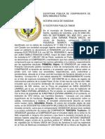 74979956 Escritura Publica de Compraventa de Bien Inmueble Rural