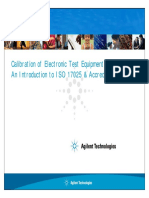 Agilent-Introduction ISO 17025 & Accreditation