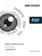 2AXX_Quick Start Guide of Network Bullet Camera