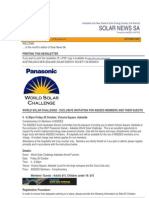 Solar News, October 2007 ~ Australian And New Zealand Solar Energy Society - South Australian Branch
