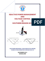 Reactive Power Management and Voltage Control2012