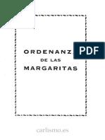 Ordenanza de Las Margaritas
