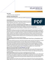 Solar News, November 2007 ~ Australian And New Zealand Solar Energy Society - South Australian Branch
