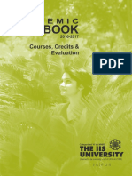 The IIS University Academic Handbook 2016 17