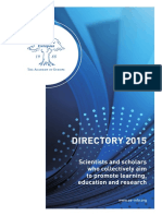 Brochure - Academia Europaea Directory 2015