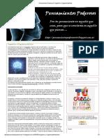 Pensamientos Poderosos_ Sugestión y Sugestionabilidad