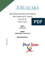 Teks Pengacara Sukan Tahunan 2012
