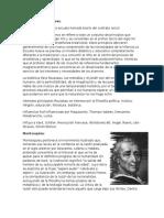 Tarea de informe sobre Jean Jacques Rousseau